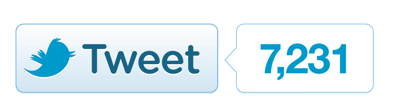 New Twitter Button
