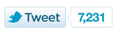 New Twitter Button